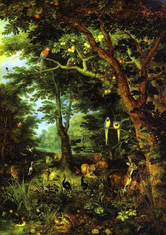 'Paradise' by Jan Brueghel the Younger